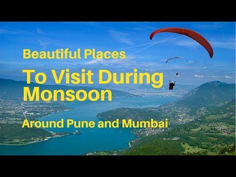 Places To Visit During Monsoon Rainy Season Around Pune Youtube