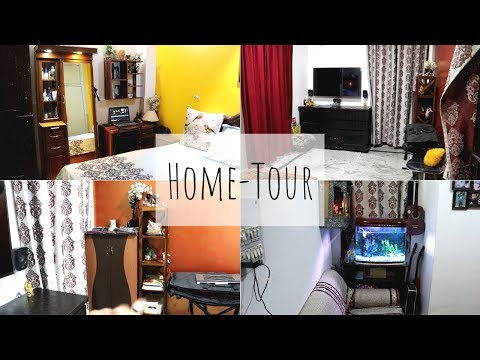 Home-Tour || Indian 1BHK Home Tour || Small House Tour || Simple and Small 1BHK house Tour 2019.