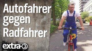 Autofahrer gegen Radfahrer