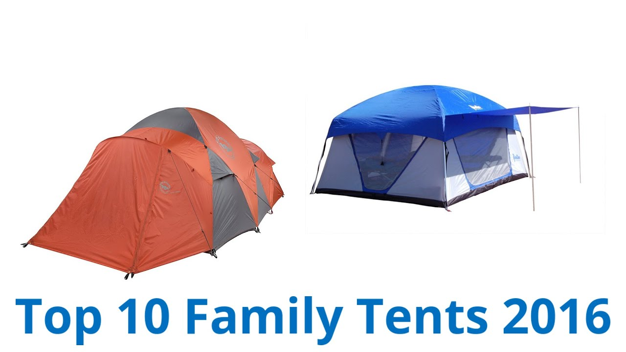 sc 1 st  YouTube & 10 Best Family Tents 2016 - YouTube