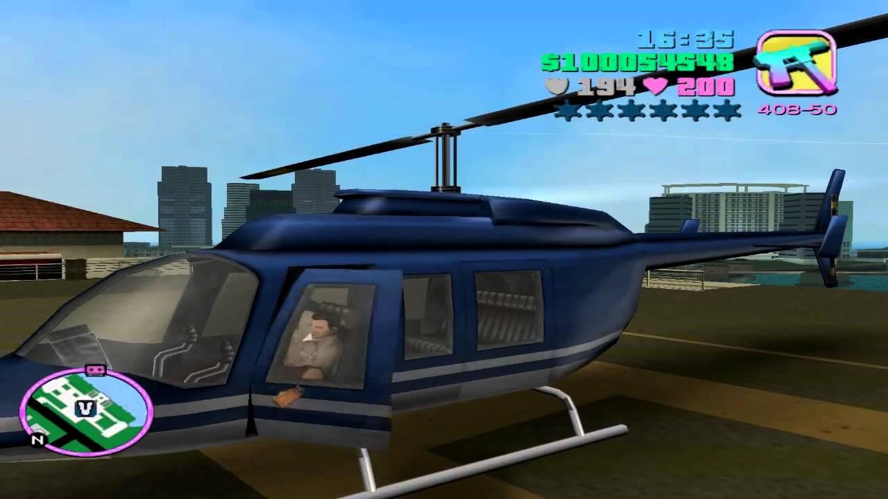Gta V Elicottero Trucco : Gta vice city come prendere l elicottero della polizia get