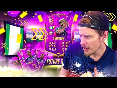 THIS CARD IS BROKEN?! 88 FUTURE STARS OSIMHEN PLAYER REVIEW! FIFA 20 Ultimate Team