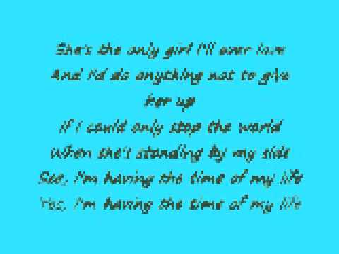 The Time Of My Life Mark Schultz Lyrics