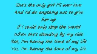 The Time Of My Life Mark Schultz Lyrics