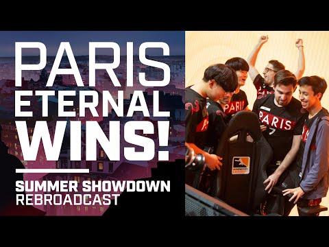 Paris Eternal's Summer Showdown Wins — 'Rebroadcast'
