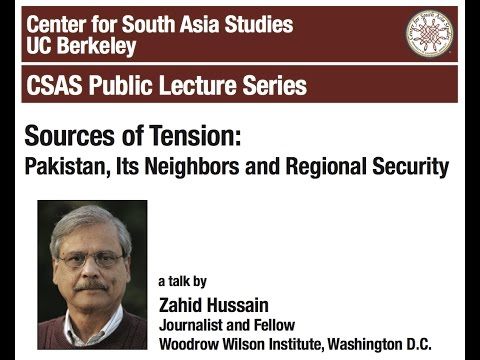 Sources of Tension: Pakistan, Its Neighbors and Regional Security