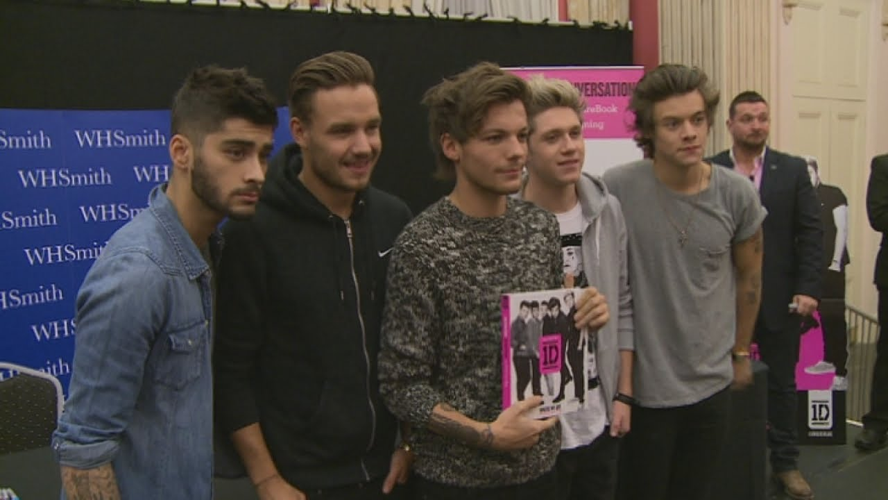 EXCLUSIVE One Direction footage 1D meet and greet fans at top