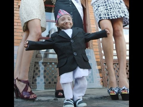 Khagendra Thapa Magar | World's Smallest Man | Guinness ...
