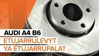 Video-ohjeet AUDI A4