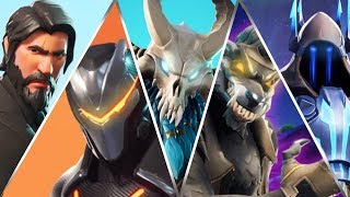 *ALL* Battle Pass Trailers in Fortnite! (S2-S9)