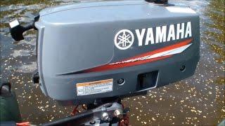 Човновий мотор ямаха 2 л. с. yamaha 2CMHS. Мотор легенда!!!
