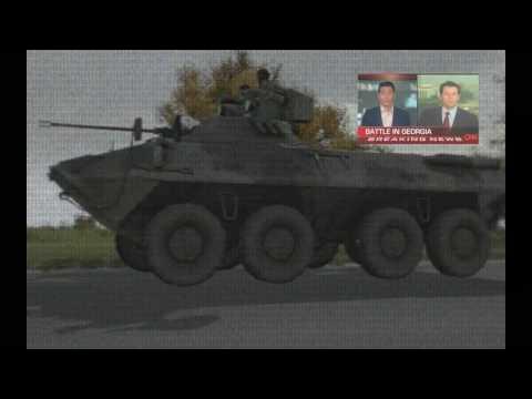 Arma 2 : Russia vs Georgia news report