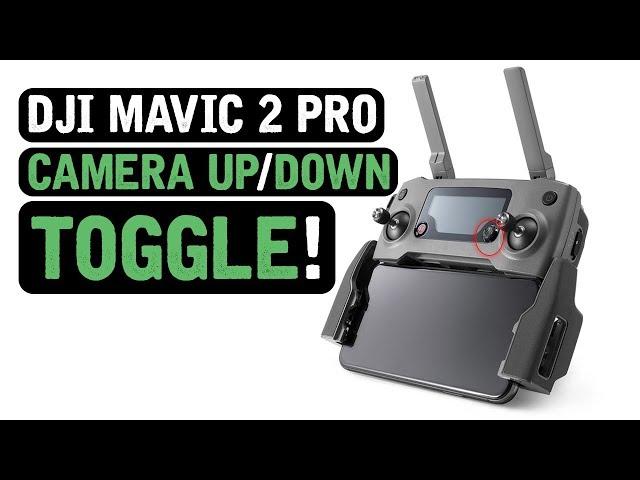 DJI Mavic 2 Pro / Camera UP/DOWN Quick Toggle!