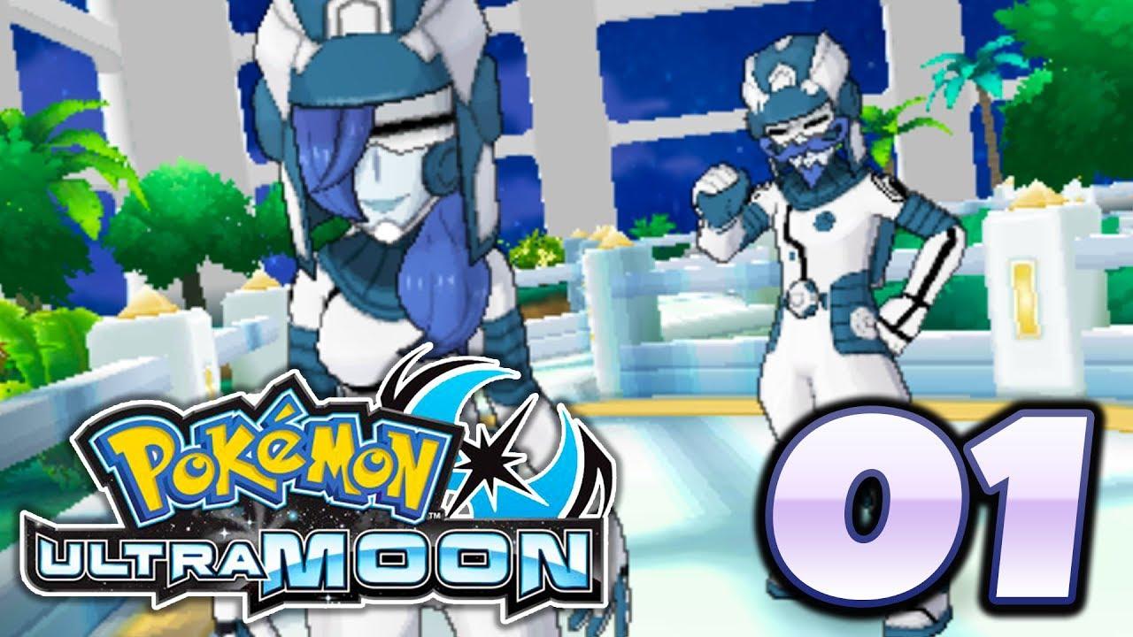 Pokémon Ultra Sun and Ultra Moon - Episode 1 | Welcome Back To Alola!  (Gameplay Walkthrough)