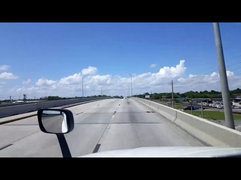Bigrigtravels Live! - Run around Houston, Texas - Interstate 610 - April 19, 2017