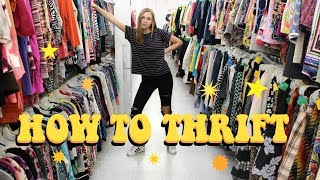 SECRETS FOR THRIFTING LIKE A PRO