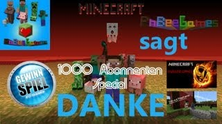 1000 Abonnenten Special [Infovideo] Flyff/Assassin's Creed/PSP/Minecraft/uvm. (german HD)