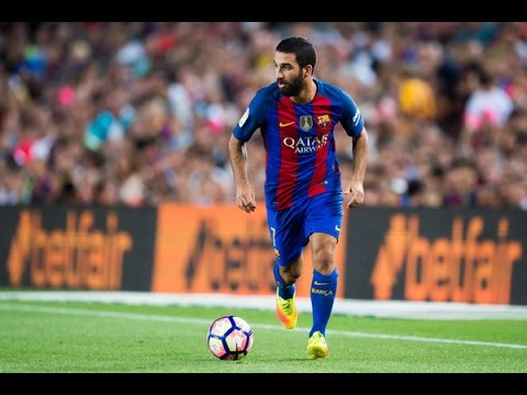 Arda Turan - Barcelona New Hero - Skills & Goals 2016/17 HD