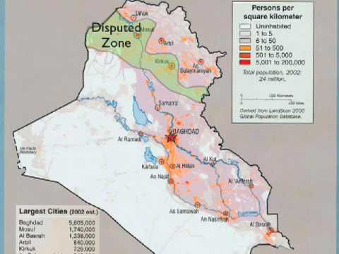 Iraq: The Disputed the Zone