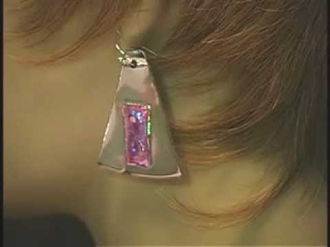 ResQ's by Seaward--Jewelry made from recycled CD's/DVD's