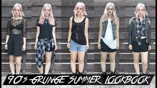 90's GRUNGE SUMMER LOOKBOOK | Rocknroller