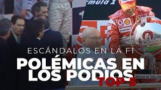 Escándalos en la F1 | 5 grandes polémicas en los podios - Efeuno