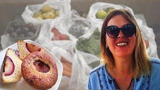 Кулинарю :) Встреча с подписчицей. Что с ценами базара? Измир, Турция.