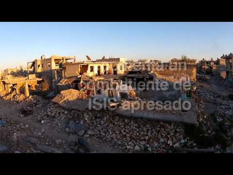 Die zerstörte Ortschaft Kobane - Ayn al Arab