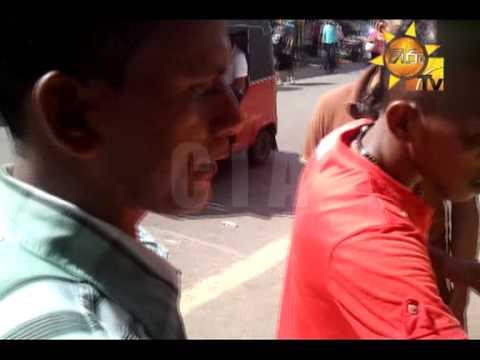 Hiru TV News CIA | COLOMBO FORT APPLE SELLERS 02 | 2013-10-10