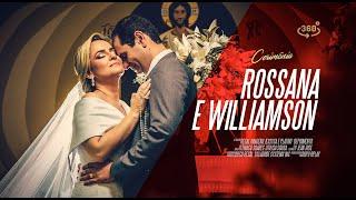 Casamento  Rossana e Williamson 360