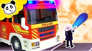 PLAYMOBIL Feuerwehr Film 🔥  Die besten Brände - Pandido TV