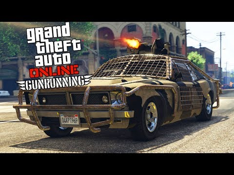 GTA 5 GUNRUNNING DLC Update Spending Spree!! All Purchasable Vehicles Weapons Showcase!!