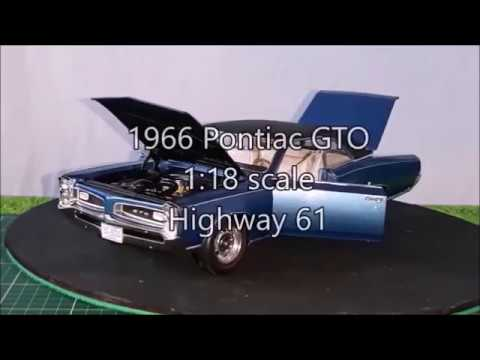 Review of a 1:18 Higway 61 1966 Pontiac GTO