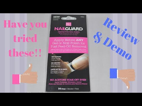How to use nail guards| Sally's Brand| Review and demo| Step By Step