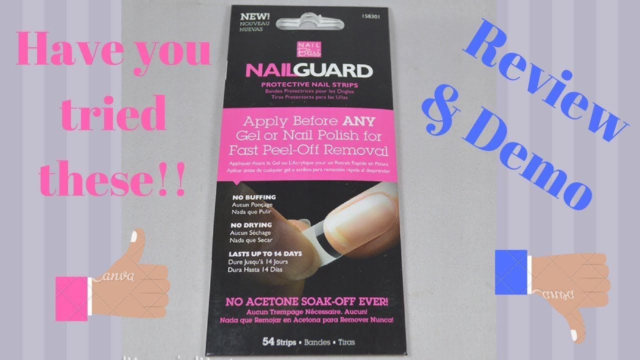 How to use nail guards| Sally\'s Brand| Review and demo| Step By Step ...