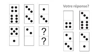 IFSI test domino: tests psychotechniques
