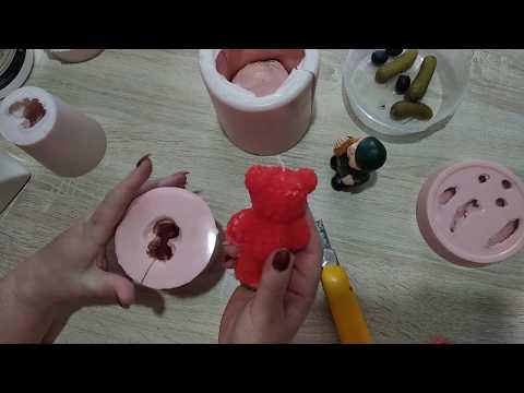 Как сделать форму для мыла из силикона в домашних условиях