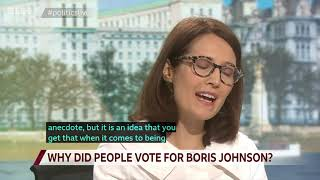 Gillian on BBC Politics Live discussing the General Election and Brexit
