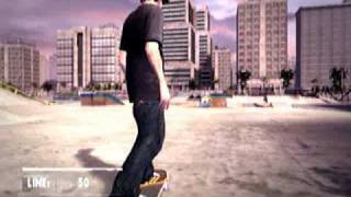 skate it wii  gameplay footage (high quality)