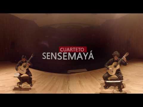Cuarteto Sensemayá -Silvestre Revueltas (1899-1940) Sensemayá-. Arreglo: Tomás Barreiro
