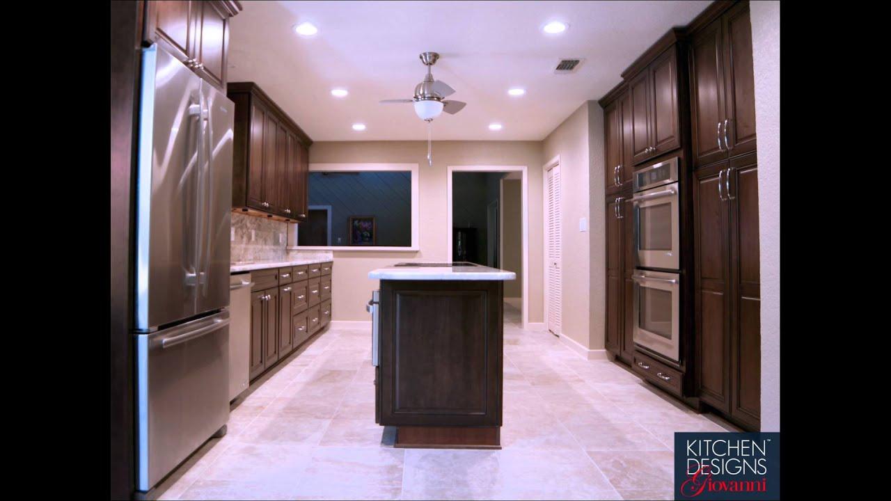 Full Kitchen Remodel In San Antonio Youtube