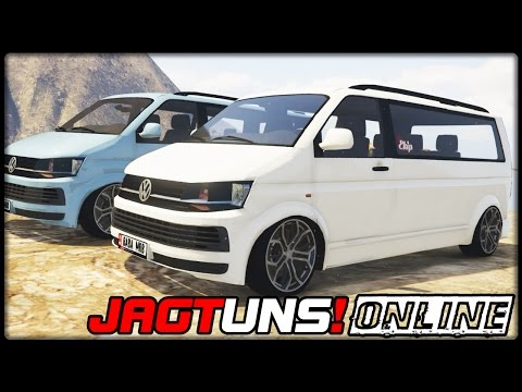 GTA 5 JAGT UNS! #28 | ONLINE | Volkswagen Transporter - Deutsch - Grand Theft Auto 5 CHASE US