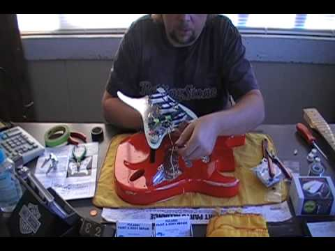 How To Relic Your Guitar Peavey Predator Part 5 Wiring And Re