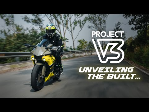UNVEILING THE BUILT | INDIA'S FIRST R15 V3 WITH FULL R1M KIT |BANDIDOS PITSTOP