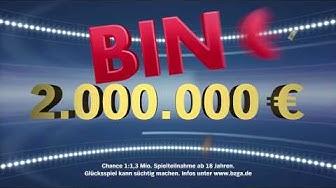 Diesen Sonntag: 2.000.000 Euro BINGO!-Jackpot