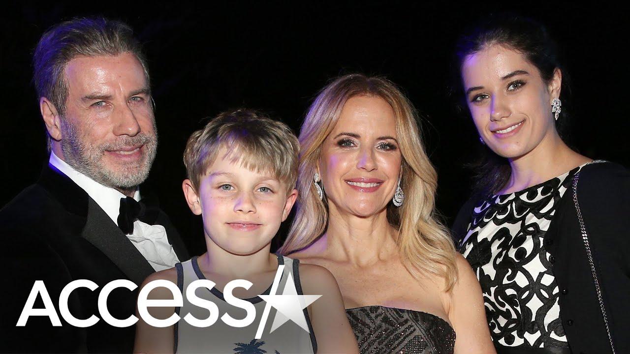 John Travolta & Kids Honor 1st Xmas Without Kelly Preston