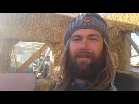 Building a Rocket Mass Heater at Standing Rock Part 1 -  Presented by OneHeartFire