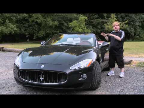 First Test Drive Of The All New 2011 Maserati GranTurismo Convertible With Nik J. Miles