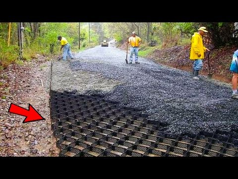 5 AMAZING ROADS MAKING TECHNOLOGIES ▶ How They Make Roads in Foreign Country