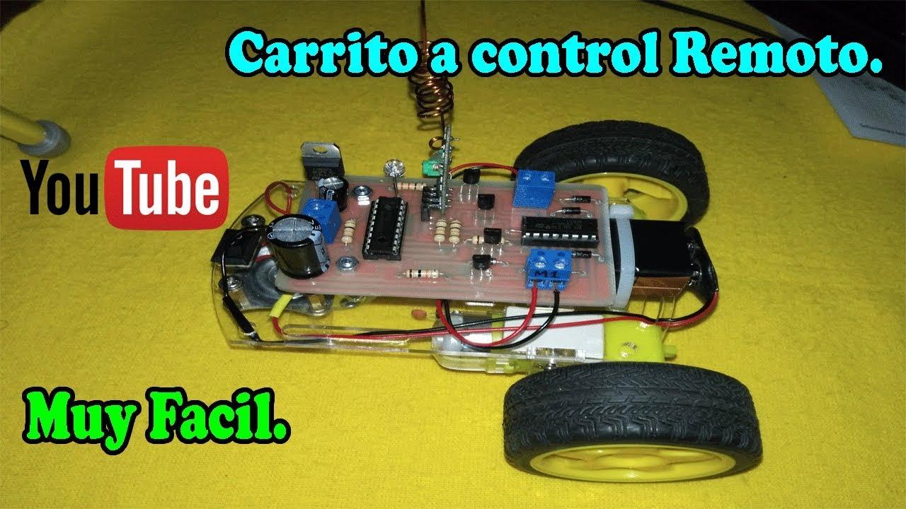 Hacer Carrito Un A Control Rf Como Remoto 45ARLj